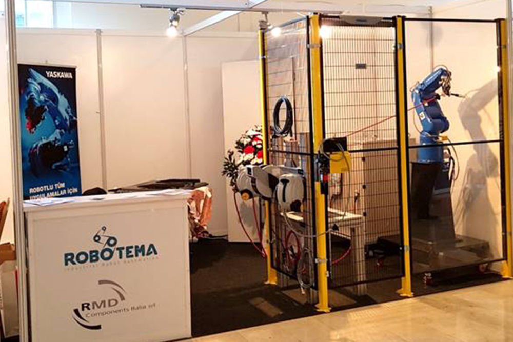R.M.D. Components Italia S.r.l. partecipa ad Istanbul a «Robot Investiments Forum and Exhibition 2017».